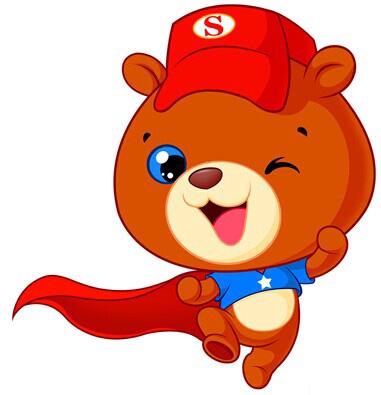 小熊来了表情图片